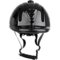 D DOLITY Mens Womens Horse Riding Helmet, Comfortable Equestrian Hat Skull Cap with Adjustable Strap