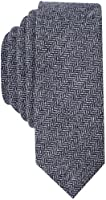 Original Penguin (PENH8) Men's Smith Solid Tie, Navy/White, One Size