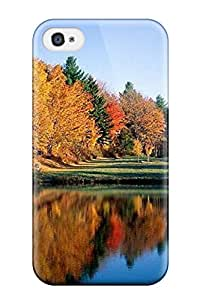 Amazing Beautiful Forest And River Case Compatible With Iphone 4/4s/ Hot Protection Case