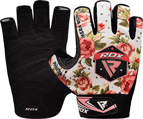 RDX Gym Weight Lifting Gloves Women Workout Fitness Ladies Bodybuilding Crossfit Breathable Powerlifting Wrist Support Strength Training