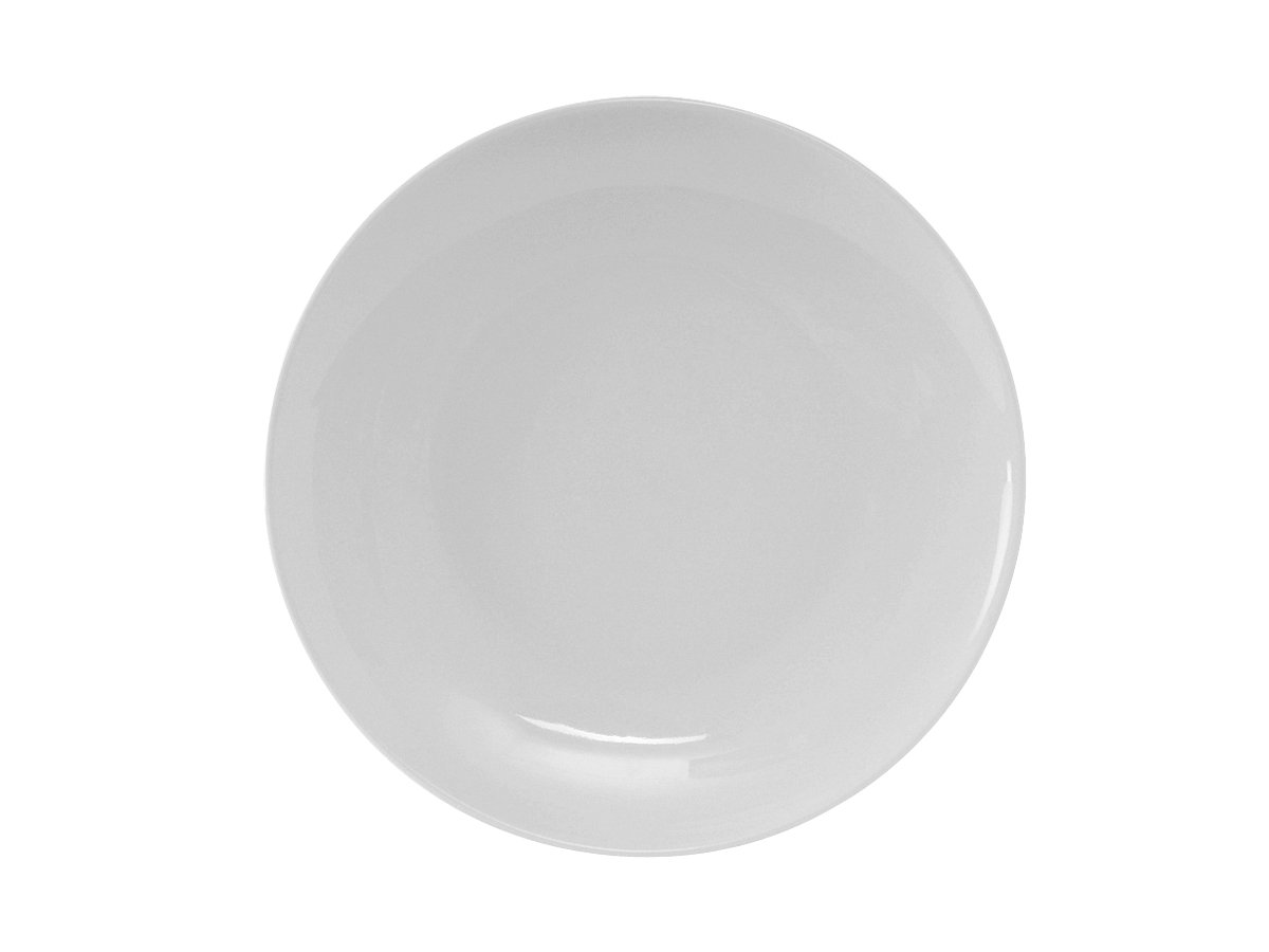 10-1//2 , Pack of 12 Tuxton CHA-104 Vitrified China Chicago Plate Porcelain White