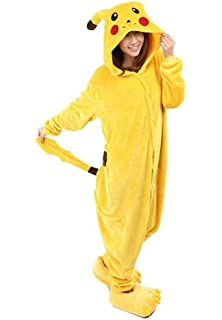 Red Dot Boutique 517 - Anime Unisex Pajama Pikachu Cosplay Costume Adult Kid 017cde528