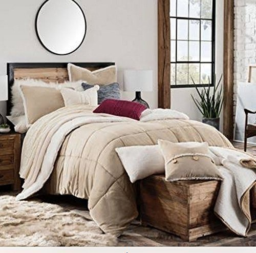 Ugg Comforter Set - Full-Queen / Tan