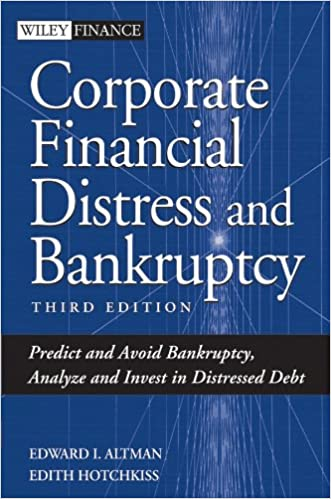Amazon corporate financial distress and bankruptcy predict and amazon corporate financial distress and bankruptcy predict and avoid bankruptcy analyze and invest in distressed debt wiley finance ebook edward fandeluxe Image collections