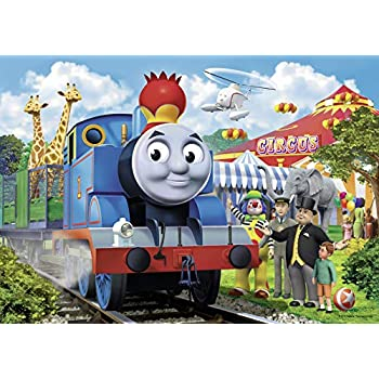Amazon Com Ravensburger Thomas Amp Friends Circus Fun Floor