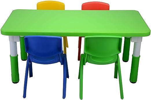 Juego de sillas para mesa de actividades para niños, juego de mesa ...