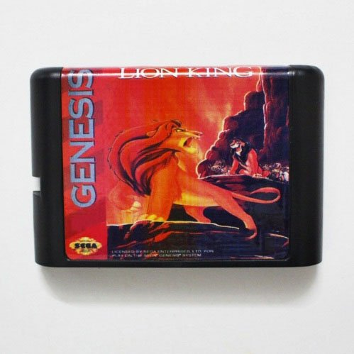 Taka Co 16 Bit Sega MD Game The Lion King 16 bit MD for sale  Delivered anywhere in USA