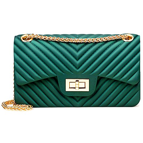 Is A Quilted Leather Clutch - 2