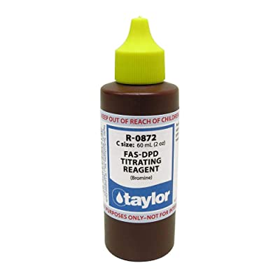 Taylor FAS-DPD Titrating Agent (Bromine) 2 Ounce R-0872-C : Swimming Pool Maintenance Kits : Garden & Outdoor