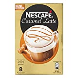Nescafe   Instant Coffee   Latte Caramel   8 Sticks Per Pack 136gr/4.80oz