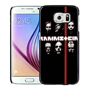 NEW Unique Custom Designed Samsung Galaxy S6 Phone Case With Rammstein Rock Band_Black Phone Case wangjiang maoyi by lolosakes