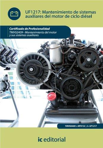 Diesel Santa - Mantenimiento de sistemas auxiliares del motor de ciclo diésel (Spanish Edition)