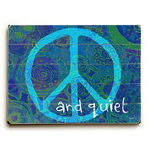 Peace And Quiet by Artist Lisa Weedn - hippie wall decor