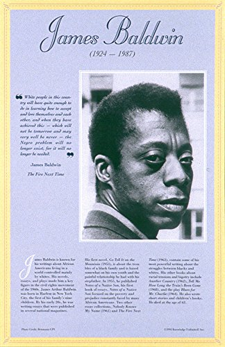 20th Century Posters - Knowledge Unlimited Inc. James Baldwin-Author's of The 20th Century Poster