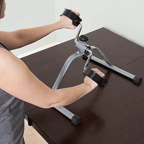 Goplus Treadmill Desk: Portable Fitness Pedal Stationary Under Desk Indoor