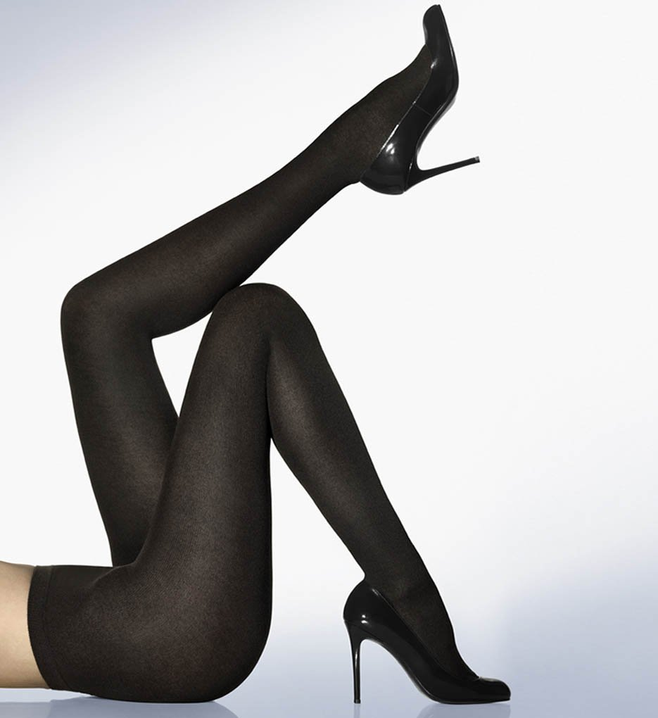 Wolford Cashmere Silk Tights (11316) XS/Black