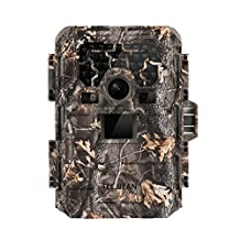 TEC.BEAN 12MP 1080P HD Game & Trail Hunting Camera No Glow Infrared Scouting Camera with 36pcs 940nm IR LEDs for Night Vision up to 75ft