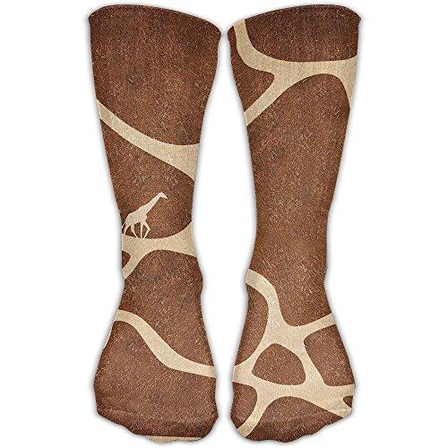 Nice Giraffe Print Women & Men Socks Soccer