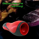 Skuleer(TM) Youcups Warrior Sleeve - Wave, 12 Funtion USB Rechargeable V ibr ating Male Ma st urbator, Luxury men Ma st urbation toys