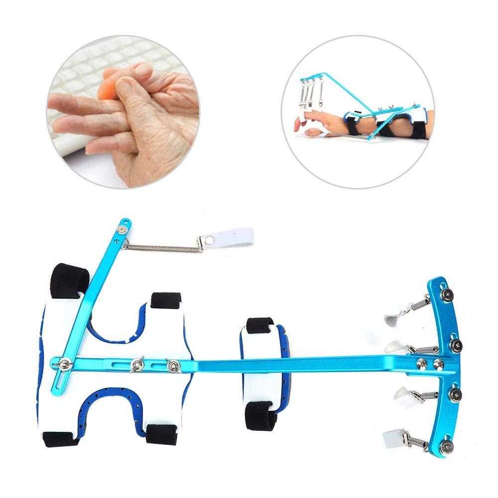 Wrist and Finger Corrector, Finger Wrist Orthotics Exerciser Hand Grip Strengthener Hands Wrist and Forearm Strength Training