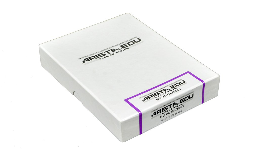 250 Sheets Arista EDU Ultra VC RC Black /& White Photographic Paper Glossy 8x10