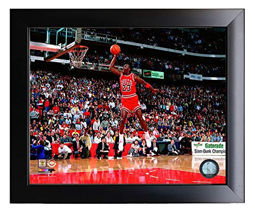 Chigaco Bulls Micheal Jordan Slam Dunk! 8x10 Photo