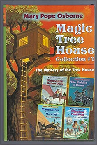 Book Hardcover Magic Tree House Collection #1 (The Mystery of the Tree House with 4 Illustrated Stories)