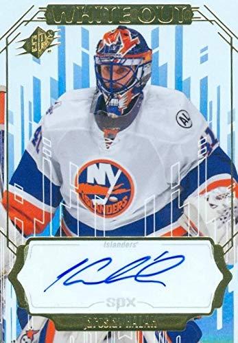 new style 4d16f 3bb88 Jaroslav Halak autographed hockey card (New York Islanders ...