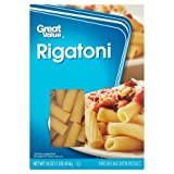 Great Value Rigatoni, 1 lb (6 Packs) - No artificial flavors or colors