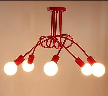 YNG Iluminación de Techo Simple Creativa Moderna Sala de ...