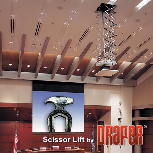 Draper Scissor Lift SL12 - Mounting kit ( electric lift Draper Scissor Projector Lift