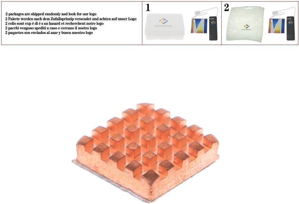 Copper Heatsink for VGA GPU DDR DDR2 DDR3 Memory RAM IC Chipset with Sticker