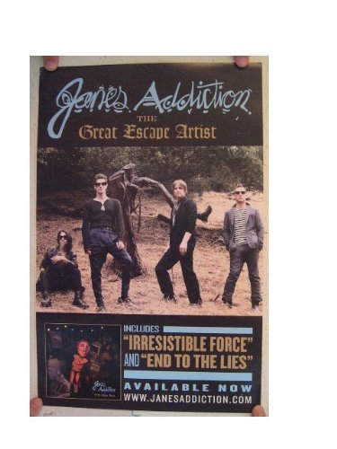 Janes Addiction Poster The Great Escape Artist Jane's