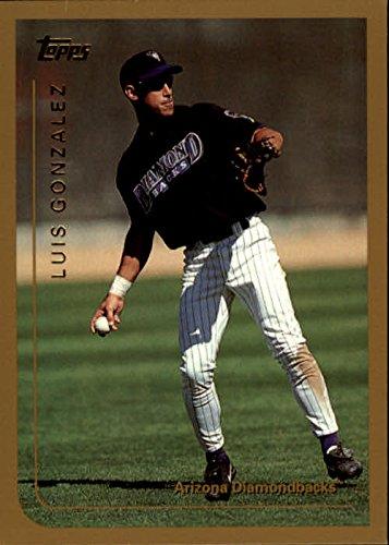 Luis Baseball Gonzalez (1999 Topps #361 Luis Gonzalez Baseball Card)