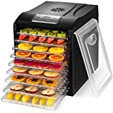 MAGIC MILL Food Dehydrator, 9 Drying Racks, 8 Digital Preset Temperature Settings