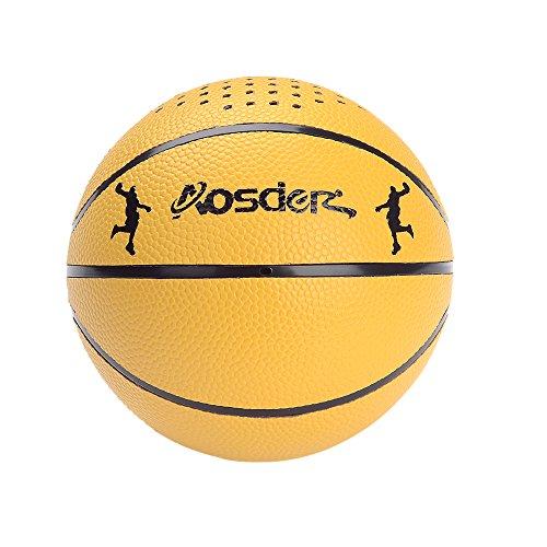 Aosder Bluetooth Speaker, Mini Stereo Handmade Portable Wireless Bluetooth Speaker for iPhone iPad Samsung HTC Sony, Basketball Style
