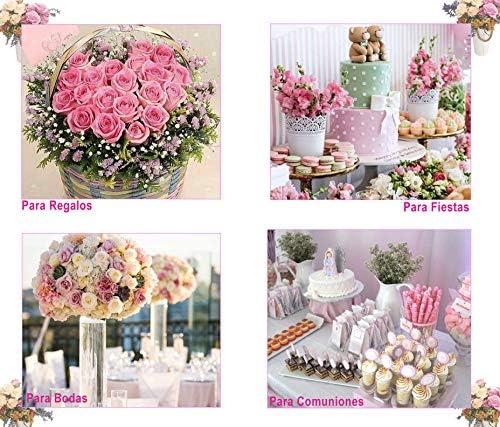 Flores Artificiales Decoración Jarrones para Boda Eventos Comunión ...
