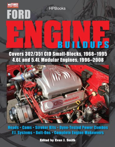 1996 General Motors - Ford Engine Buildups HP1531: Covers 302/351 CID Small-Blocks, 1968-1995 4.6L and 5.4L Modular Engines, 1996-2 008; Heads, Cams, Stroker Kits, Dyno-Tested Power Combos, F.I. Systems, Bolt-On