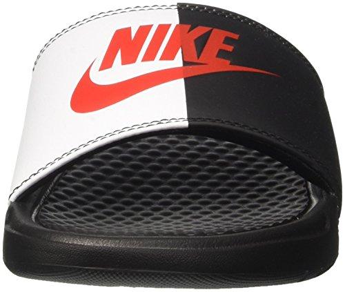 Game Piscine Homme Black Nike de Plage 006 Chaussures et Benassi JDI Redwhite Noir FUCxqgwv