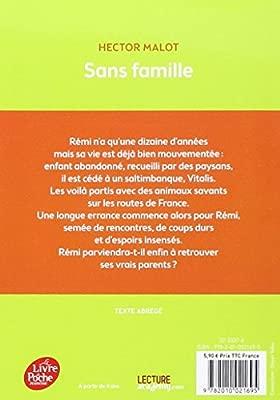Sans Famille Texte Abrégé Livre De Poche Jeunesse