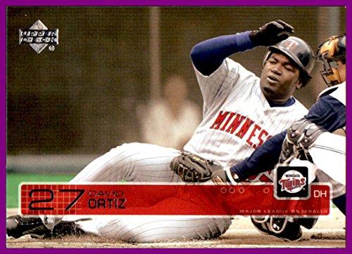 2003 Upper Deck #114 David Ortiz MINNESOTA TWINS