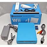 Nintendo Wii Limited Edition BLUE Video Game Console Home System RVL-101 GameCube