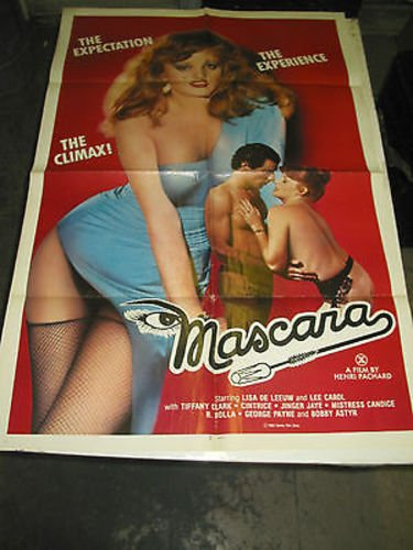 MASCARA/ORIG. U.S.ONE SHEET MOVIE POSTER (ADULT;LISA DE LEEUW)