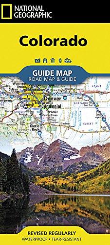 Colorado (National Geographic Guide - Colorado Map