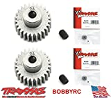 bobbyrc Traxxas 2426 Pinion Gear 26T 48P (2pcs) Slash 2WD Rustler Stampede Bandit VXL XL5
