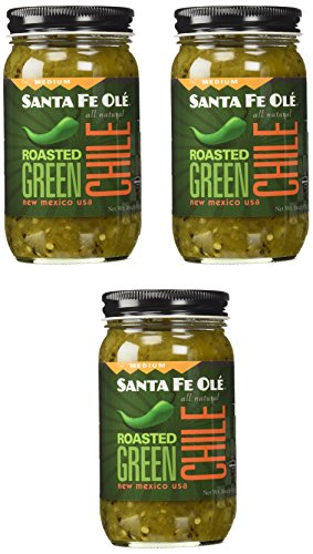 - Santa Fe Ole Medium Roasted Green Chile 3 Pack