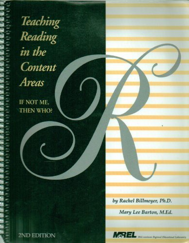 Teaching Reading in the Content Areas: If Not Me, Then Who?  2nd Edition