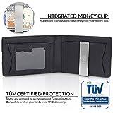 TRAVANDO Mens Wallet Money Clip PHOENIX Front