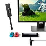 C-FORCE CF002 USB Multi-Function Adapter, HDMI Hub for Nintendo Switch MacBook Pro (Black)
