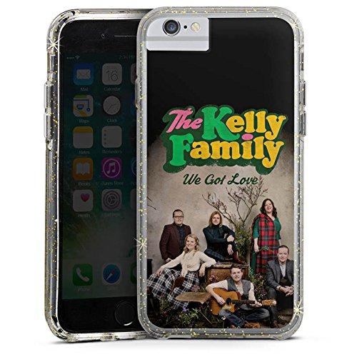 Apple iPhone 6s Plus Bumper Hülle Bumper Case Glitzer Hülle The Kelly Family We Got Love Merchandise